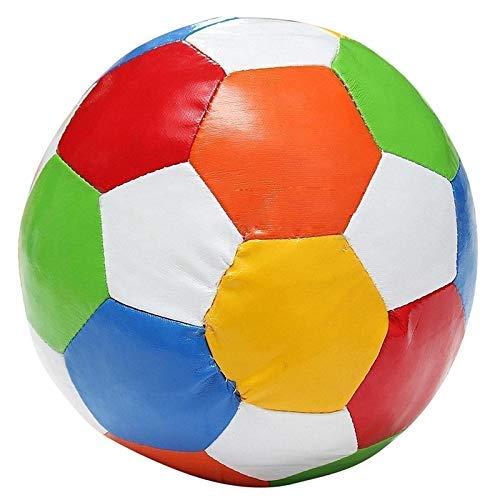 KCGNBQING Baloncesto 1pc 14.4cm Superficie Cubierta de PVC de PVC de fútbol de fútbol de Juguete de Pelota de Juego Baloncesto