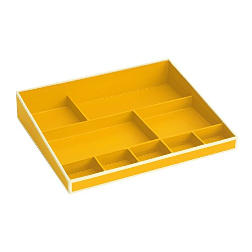 Semikolon (352526) Desktop Organizer sun (gelb) - Ordnungs-System für den Schreibtisch - Format 30,2 x 24,8 x 5,6 cm