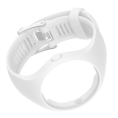 Sharplace Cinta Correa Pulsera Reparación Compatible con Polar M200 - Blanco