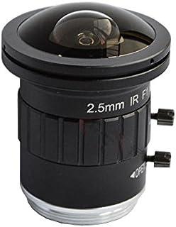 Pomya 25mm Wide Angle Lens F1.8 Mini CCTV C Mount Wide Angle Lens for Sony Nikon Canon DSLR Cameras Silver