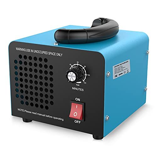 JOBYNA Ozone Generator, 20,000mg/h High Capacity Industrial Ozone Generator Air Purifier, Commercial/Home Deodorizer Ozone Machine for Rooms, Smoke, Cars, and Pets