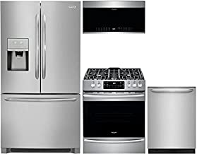 Frigidaire 4-Piece Stainless Steel Kitchen Package with FGHD2368TF 36