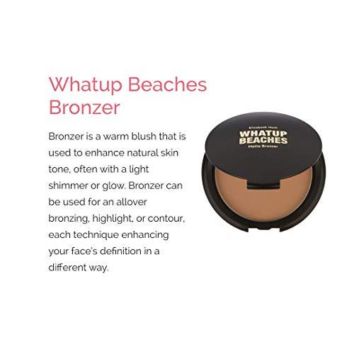 Whatup Beaches Matte Bronzer by Elizabeth Mott, 10g (Cruelty free, Paraben free)