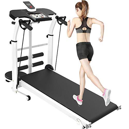 Laufband für Zuhause, 150 kg, zusammenklappbar, LED-Display, Fitnessgerät,für GEH-und Lauftraining mit LCD Bildschirm,rutschfest und langlebig,Entfernung, Zeit, Kalorien, Steigung