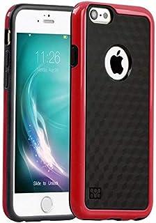 كفر جوال فاخر لهاتف آيفون6 و6 S لون أحمر
