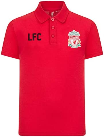 Liverpool FC - Polo para niño - Con el escudo del club Rojo