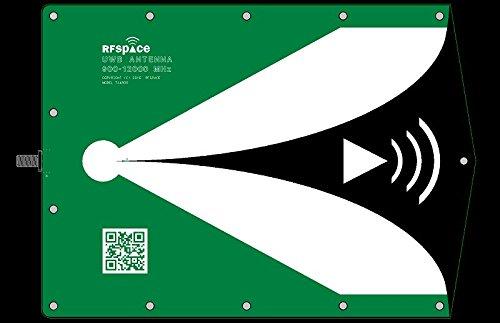 TSA900 Ultra Wide band UWB Antenna 900 MHz - 12 GHz for UWB TX/RX SDR RADAR GPR SIGINT EMC TEST ADSB WIFI FVP DRONE VIDEO VIVALDI ANTENNA