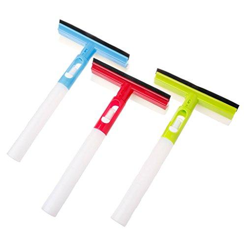 JERKKY 3 In 1 Spray-Art Gefalteter Pinselreiniger Autofensterreinigung Airbrush Glaswischer 1 Stück Stil Zufällig