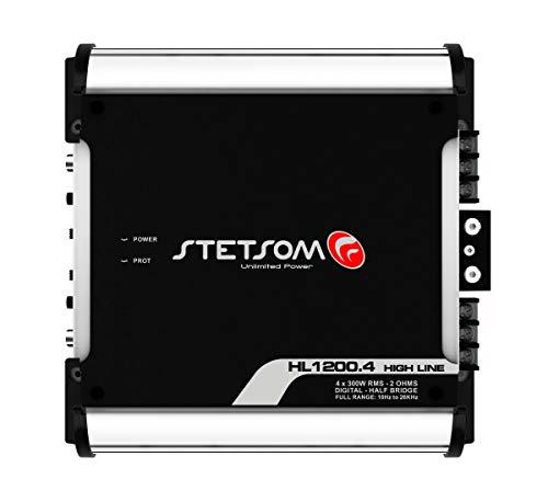AMPL. Digital Stetsom HL1200.4 1200W 4 Canais 2 OHMS