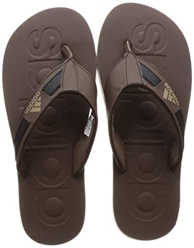 Adidas Men Salon Brown Slippers-9 UK (43 1/3 EU) (CM0049)