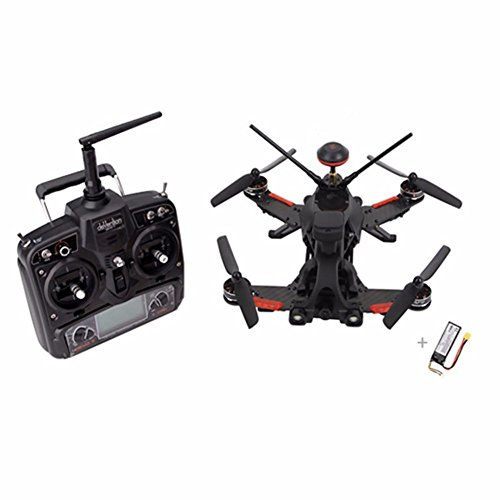 Xiangtat Walkera Runner 250 PRO DEVO 7 Transmitter RC Racing Drone Quadcopter with 1080P Camera /OSD /DEVO 7/GPS/Battery /Charger RTF