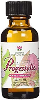 2 Bottles of Progestelle Progesterone Skin Oil Purer Than Progesterone Cream, Bioidentical, Natural - NO Fragrance, NO Preservatives, and Booklet- 1oz, 800 mg/oz Double Strength