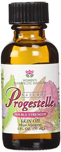 2 Bottles of Progestelle Progesterone Skin Oil Purer Than Progesterone Cream for Women, Bioidentical, Natural - NO Fragrance, NO Preservatives, and Booklet- 1oz, 800 mg/oz Double Strength