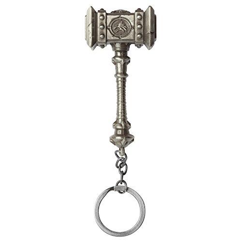 Jinx 6668 World of Warcraft Schlüsselanhänger Doomhamer, metallfarbend
