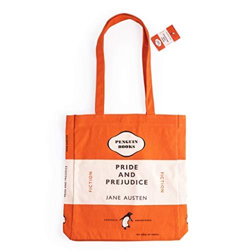 ペンギンブックス トートバッグ PRIDE AND PREJUDICE オレンジ 813281
