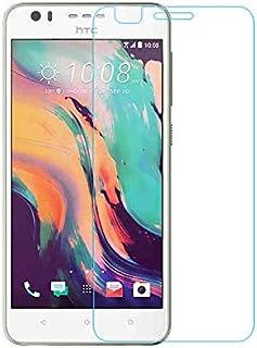 جراب هاتف من القماش - لهاتف HTC Desire 10 Lifestyle 2.5D 9H جراب واقي للشاشة من الزجاج المقوى لهاتف HTC Desire 825 5.5 بوصة