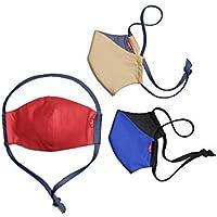 3-Pack Levis Reusable Reversible Face Masks (3 color options)