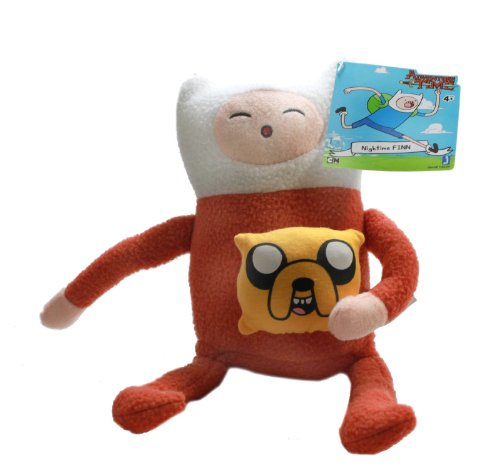 Adventure Time Deluxe 10 Inch Finn in Pajamas Peluche Toy