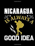 Nicaragua Is Always A Good Idea: Traveling Logbook | Backpacker Travel Book | Gap Year Planner | Backpacking Organizer & Journal