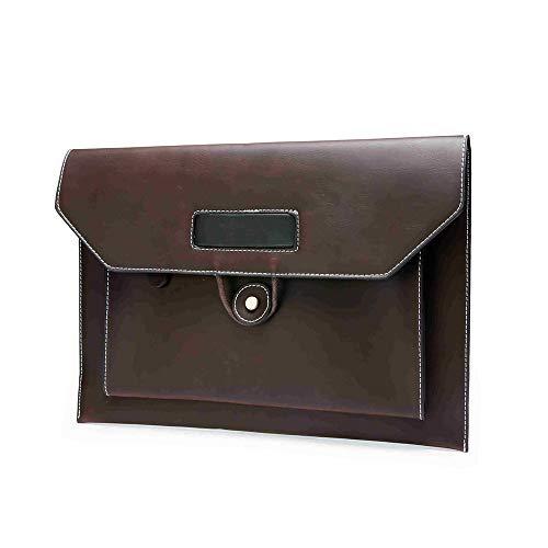 Boss Bag Retro Bag Bestand Tas Casual Kleine Tas Koppelingstas Tide Mannelijke Hand Pak Tas Mobiele Telefoon Tablet Tas (Kleur : Koffie, Maat : M)