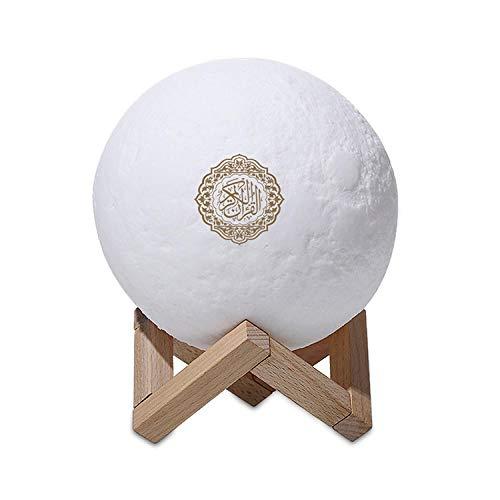 Decorazione per la luce notturna a LED Moon Light Quran Speaker Regalo di compleanno per bambini
