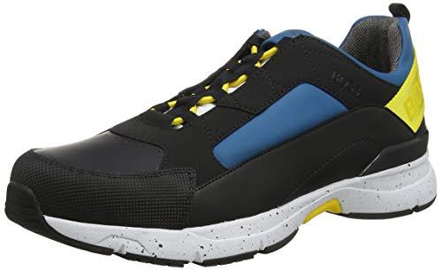 BOSS Velocity_Runn_rbmx, Herren Sneaker, Blau (Tourquoise Aqua 440), 42 EU (8 UK)