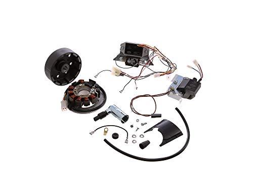Umrüstsatz VAPE M-G auf 12 V 35 / 35 W (ohne Batterie, Hupe und Kugellampen) S50, S51, S70
