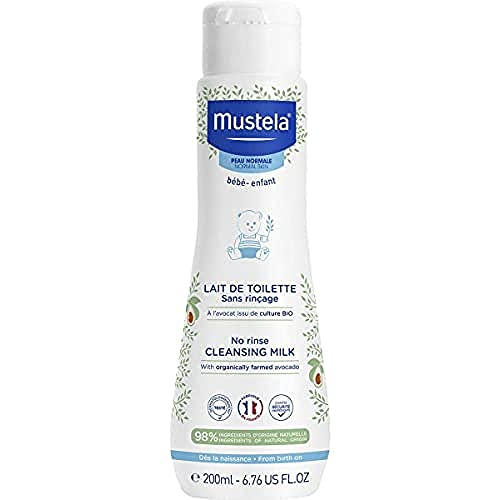 Mustela, Leche Limpiadora para Bebé - 200 gr.