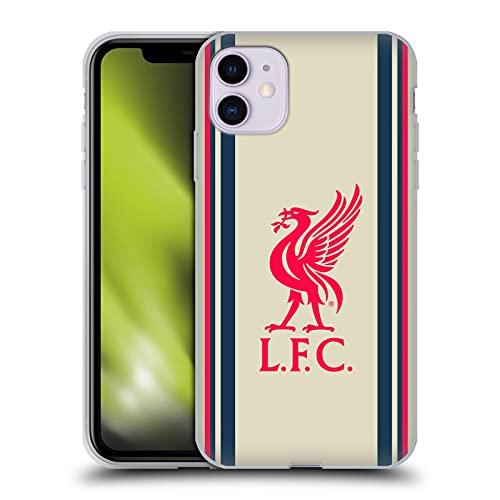 Head Case Designs Licenciado Oficialmente Liverpool Football Club Away 2021/22 Carcasa de Gel de Silicona Compatible con Apple iPhone 11