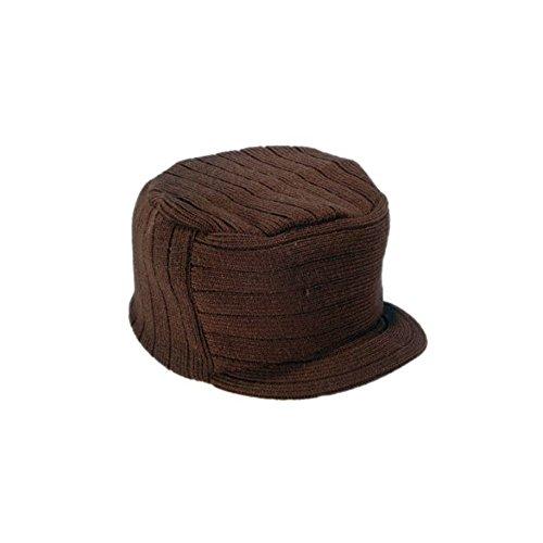 Bonnet Company Bonnet Casquette Plat Marron Herman