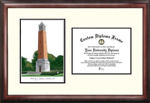 Imágenes de Campus 'Universidad de Alabama, Tuscaloosa' Scholar Diploma Frame, 21,6x 27,9cm