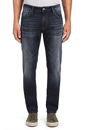 Mavi Men's Zach Straight Leg Jeans, Rinse Foggy Williamsburg 31 X 32