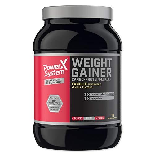 Power System Weight Gainer - 1.000g Vanille … (Vanille)
