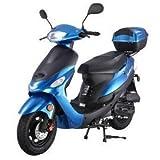 Taotao ATM50A1 50cc Scooter Blue