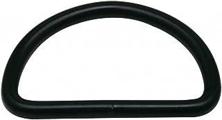 Generic Metal Black D Rings Buckle D-Rings 1.5 Inches Inside Diameter for Strap Pack of 12