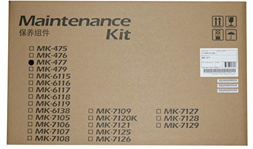 Kyocera 1702K37US0 Model MK-477 Maintenance Kit For use with Kyocera/Copystar CS-255, CS-305, FS-6525MFP, FS-6530MFP, TASKalfa 255 and 305 Multifunctional Printers