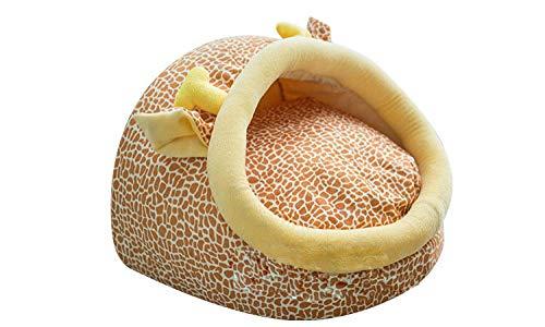 Cama para Perros para Perros pequeños Cama Linda para Gatos Lavable Sheep Cat Caw-Ciervo_L.