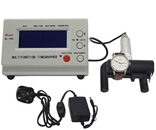 FANYU NO.1000 Uhren-Zeitmessmaschine Tester-Werkzeuge Multifunktions-Timegrapher-Uhrzeit-Kalibrierungswerkzeug Uhrwerkzeug für mechanische/automatische Uhren Armbanduhr