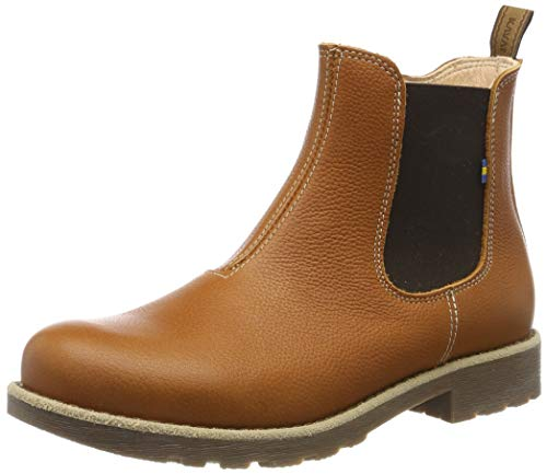 Kavat Unisex-Kinder Husum JR EP Chelsea Boots, Braun (Light Brown 939), 35 EU