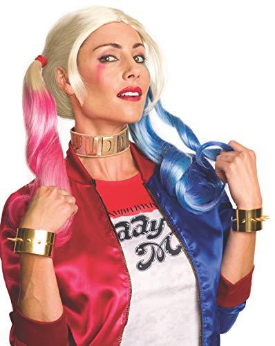 Conjunto de joias Rubie's Costume Co. Feminino Esquadrão Suicida Harley