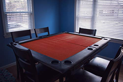 """Game Night Table Topper 40""""x60"""" Red - GNTT1002RED"""