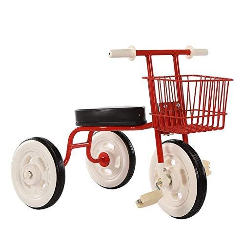 CAIMEI Trike Kinder 's Dreirad, Fahrrad 2-5 Jahre Alte Kinder Einfaches Fahrrad Leichtes Pedal Vorschule (Farbe:...