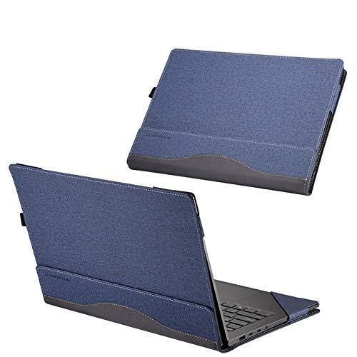 Custodia per Hp Spectre Envy X360 13,3 pollici Laptop Sleeve protettiva Skin Cover (Per X360 13,3 pollici Dimensioni 30,6 * 19,45 cm, blu lago)