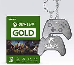 Microsoft Xbox Live Gold - 12 Meses + Chaveiro