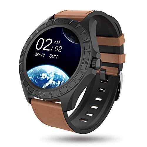 BIGCHINAMALL Smartwatch Uomo, Orologio Fitness Tracker con Monitoraggio di Frequenza Cardiaca, Pressione Sanguigna, Attività Sportive,Corsa e Contapassi Activity Tracker Orologio (Casual)