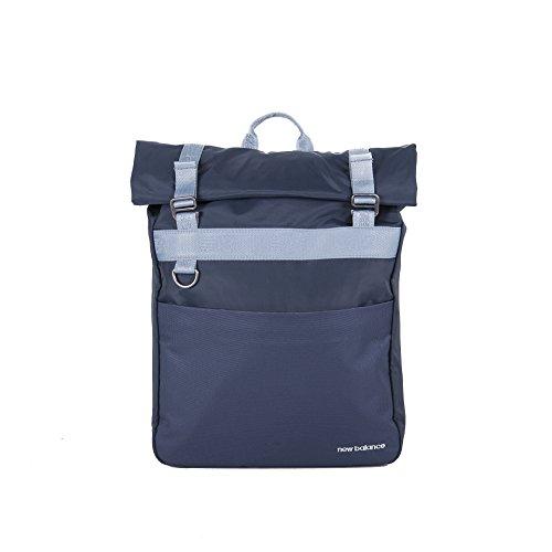 New Balance LSE mochila enrollable unisex, color azul petróleo, tamaño talla única, volumen 22liters