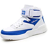 Hmulan Mens High-top Casual Fashion Sneakers