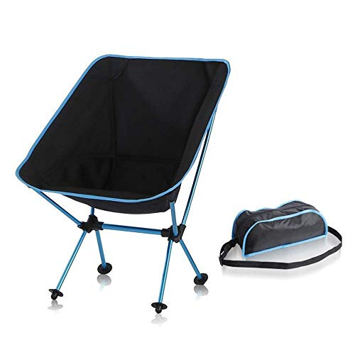 Leisure Chair Beach Chair Outdoor, Hiking, Picnic, Beach, Camping, Backpack, Holiday, Camping Gear Accessories, With Tote Bag, Light Blue For outdoor, indoor
