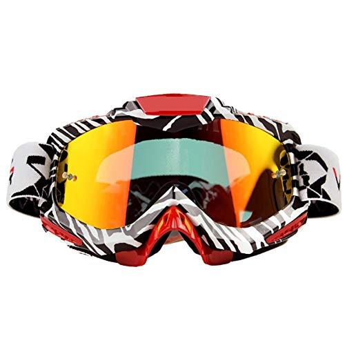 WUIO skibril, dubbellaags, UV400, anti-condens-coating, grote skibril, heren dames, sneeuw, snowboardbril
