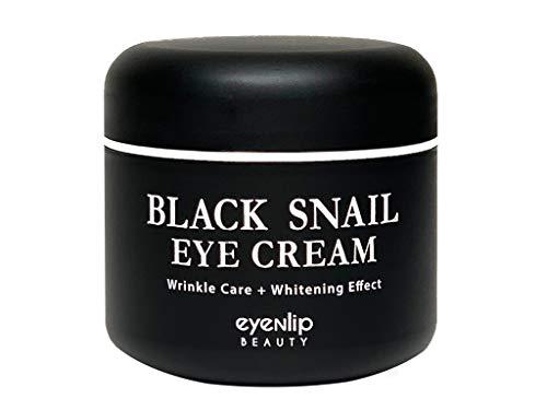 Eyenlip black snail eye cream 50ml Korean Skin Care Eye Cream,Moisturizer,Eye Cream for Dark Circles,Wrinkle Care,Treatment,Black Snail Extract